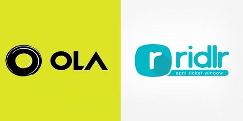Ola Acquires Ticketing App Firm Ridlr