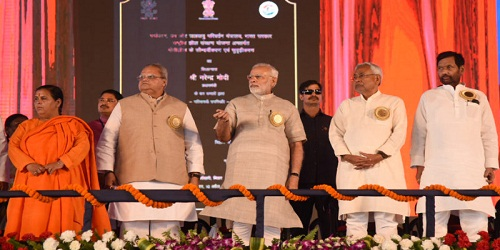 PM addresses National Convention of Swachhagrahis, launches development projects