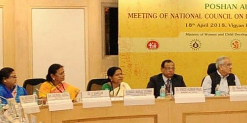 POSHAN Abhiyaan: 1st meeting of National Council on India's Nutrition Challenges held in New Delhi