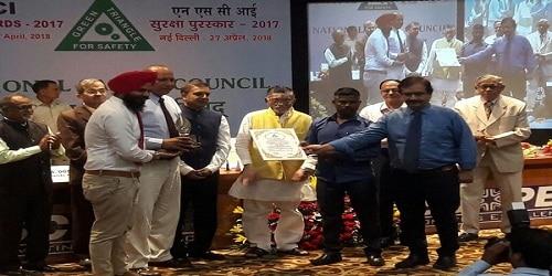 Parijat Industries wins prestigious NSCI Sarvashrestha Suraksha Puraskar