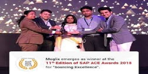 Moglix bags SAP ACE AWARD 2018 for Sourcing Excellence
