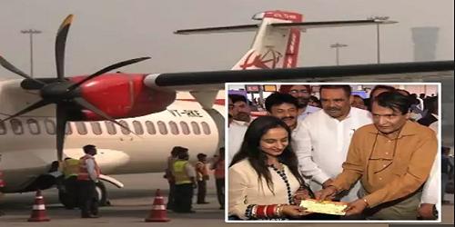 Suresh Prabhu inaugurates Delhi-Pathankot flight under UDAN scheme