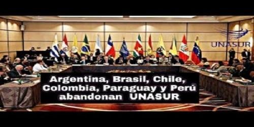 Six countries suspend membership in UNASUR
