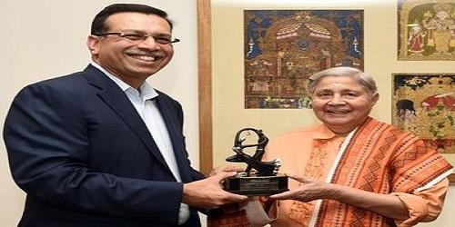 BCCL chairman Indu Jain gets lifetime contribution to media award