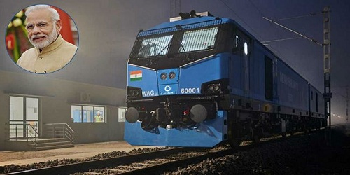 Modi launches India's most powerful electric locomotive in Bihar