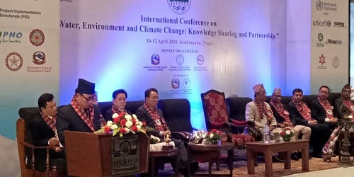 First International conference on Water, Environment held in Kathmandu