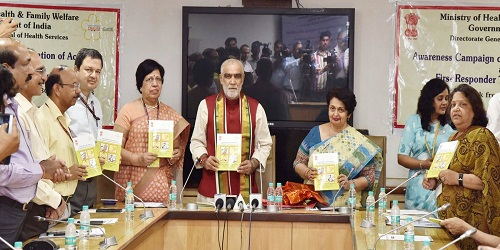 Shri Ashwini Choubey releases Handbook on Prevention of Accidents and Awareness of First Aid