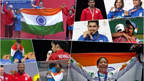 india in commonwealth games 2018
