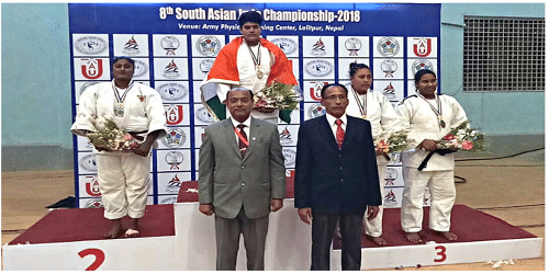 Indian women make a clean sweep at 8th South Asian Judo Championship in Nepal