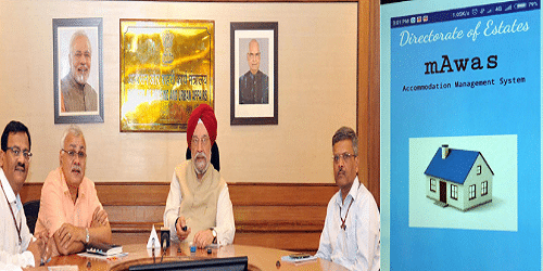 Sh. Hardeep Puri, Minister of State for Housing and Urban Affairs (I/C) launched a Mobile App