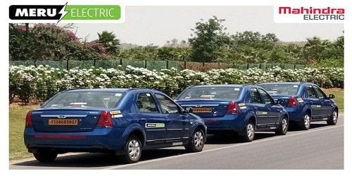 Mahindra Electric ties up with Meru for e-vehicle project