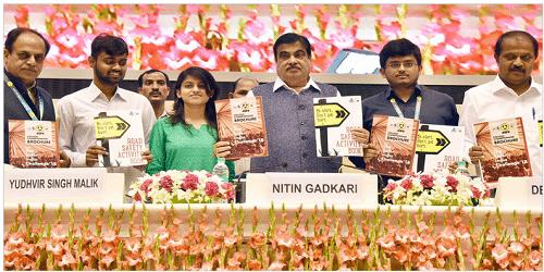 Nitin Gadkari inaugurates 29th Road Safety Week in New Delhi