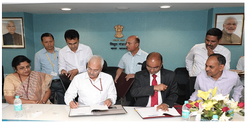 SJVN signs MoU with Ministry of Power to achieve 9200 Million Units in FY 2018-19