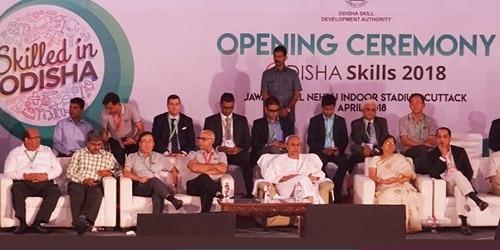 Naveen Patnaik launches Odisha Skills, Dharmendra Pradhan opens 3 facilities