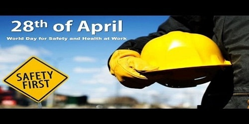 World Day for Safety and Health at Work – April 28
