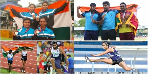 India finish on top with 20 gold medals at 3rd South Asian Junior Athletics Championships