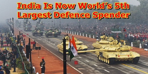 India among top 5 defence spenders: SIPRI Report