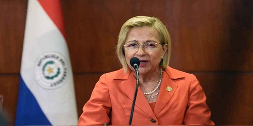 Alicia Pucheta first woman interim president of Paraguay