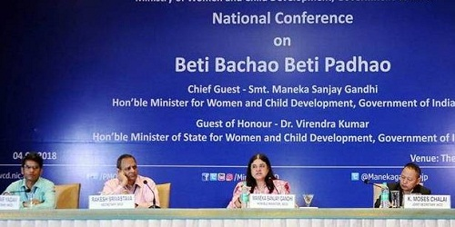 National Conference of 244 selected Districts under Beti Bachao Beti Padhao (BBBP)