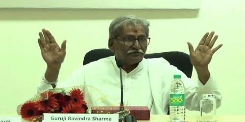 Guruji Ravinder Sharma, the renowned artist-philosopher has passed away
