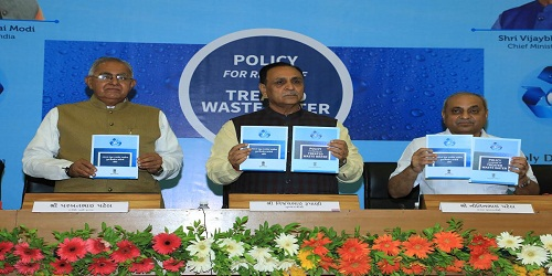 Gujarat govt launches 'Reuse of Treated Waste Water Policy'