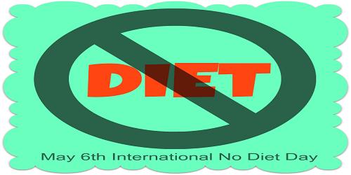 International No Diet Day (INDD) – April 6
