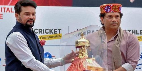 Sachin Tendulkar, Anurag Thakur launch 'Khel Mahakumbh'
