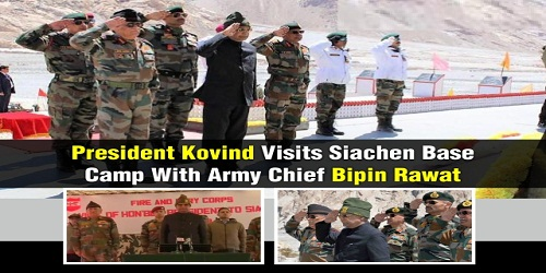 Ram Nath Kovind becomes second president to visit Siachen base camp
