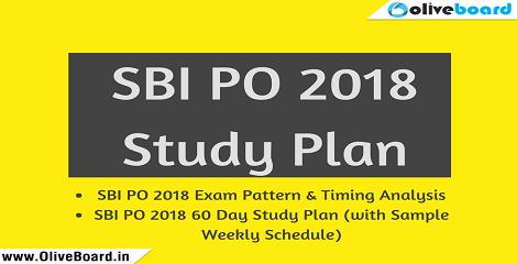 SBI-PO-2018 Study Plan