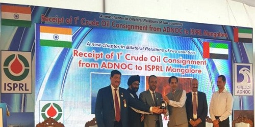 India receives the 1st cargo of ADNOC crude oil for its Mangalore Startegic Petroleum Reserve