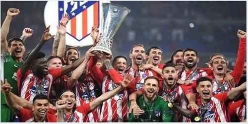 Atletico crowned Europa League Champions (Football)