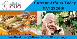 current affairs May 23 2018