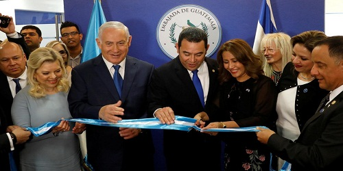 Guatemala 2nd nation to open embassy in Jerusalem after US