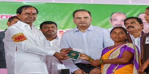 Telangana CM launches investment support scheme for farmers