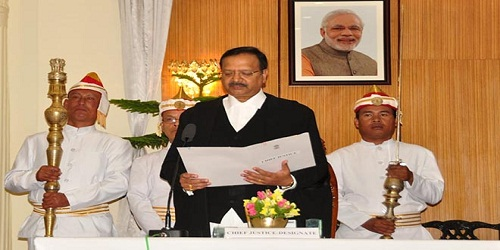 Ramalingam Sudhakar sworn-in as new Chief Justice of Manipur High Court