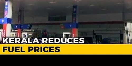 Kerala to Reduce Price of Petrol and Diesel by Rs. 1 fromFriday