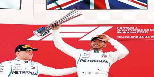Lewis Hamilton wins Spanish Grand Prix to stretch lead in F1 title race