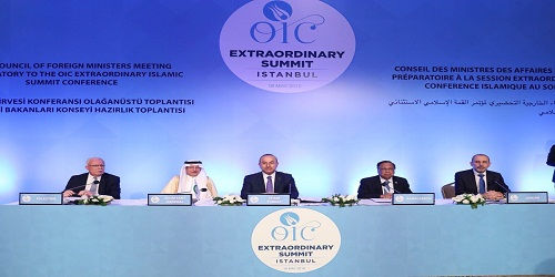 Emergency Summit of OIC held in Istanbul to discuss Israel-Palestine violence