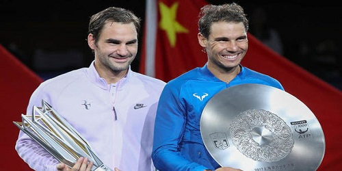 Federer replaces Nadal as number one, Djokovic on the slide