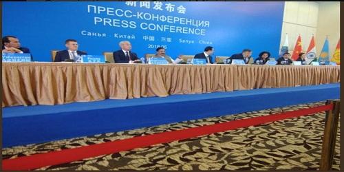 15th Meeting of SCO Cultural Ministers at Sanya, China