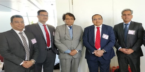 15th Session of the India-Australia Joint Ministerial Commission co-chaired by Suresh Prabhu was held in Canberra, Australia