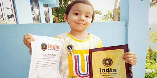 Four year-old Assam kid 'Youngest Author of India'