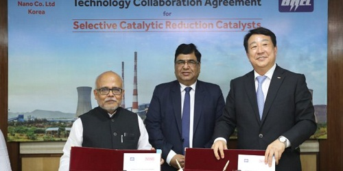 BHEL inks pact with Korean firm NANO for emission controlling equipment