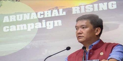 CM launches 'Arunachal Rising Campaign'