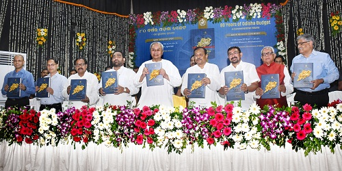 CM releases special booklet on 80-years of Odisha Budget