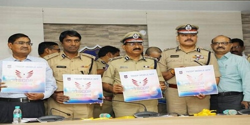 COP CONNECT mobile App for Telangana police launched