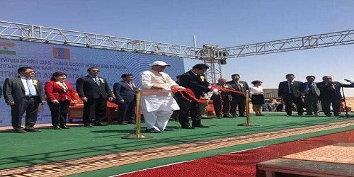 Mongolia launches construction of its first oil refinery with $1 billion Indian aid