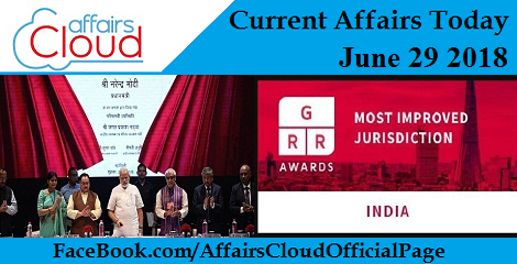 Current Affairs Today June 29 2018