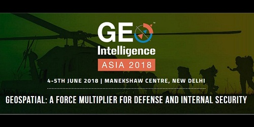 Geo-Intelligence Asia – 2018 for providing insight of the latest technology in the GeoSpatial field