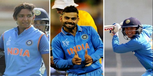 Kohli conferred with Polly Umrigar award & Harmanpreet Kaur and Smriti Mandhana received their maiden BCCI awards for being best international cricketer (women)